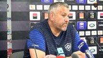 Après-match Toulon/Castres : Christophe Urios