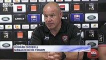 """Toulon-Castres (26-22) – Cockerill : """"Castres a très bien joué"""""""
