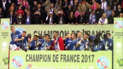 La victoire, la libération de toute une équipe, de tout un stade