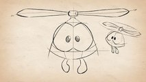Как нарисовать Верто - How to draw Poto (Cut the Rope)