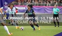 Coupe de France féminine, finale : Olympique Lyonnais-Paris-SG (1-1, 7 tab à 6), le résumé