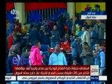 غرفة الأخبار | محمود الشامي : استئناف مبارة مصر و ليبيا بعد  توقفها و هناك واعي من الجمهور