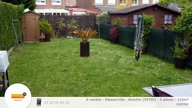 A vendre - Maison/villa - Ronchin (59790) - 5 pièces - 115m²