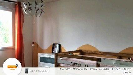 A vendre - Maison/villa - Trainou (45470) - 4 pièces - 81m²