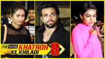Hina Khan, RIthwik Dhanjani, Nia Sharma Leave For Spain | Khatron Ke Khiladi 8