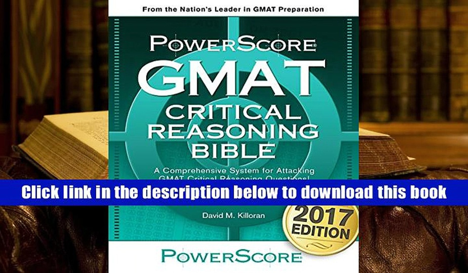 Pdf Download The Powerscore Gmat Critical Reasoning Bible For Trial Video Dailymotion