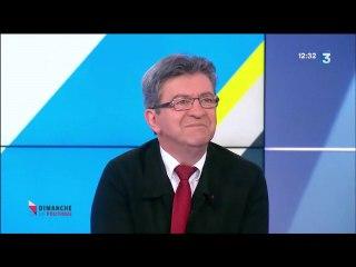 """Jean-Luc Mélenchon invité à """"Dimanche en politique """" sur France 3 le 21/05/2017"""
