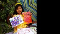 Easiest Way to Paint Flowers, 9 Year Old Girl Shows How to