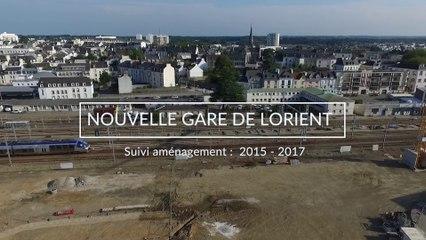 Gare de Lorient : retour sur 2 années de travaux