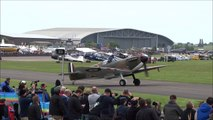 Bristol Blenheim & 2 Mk1 Spitfires @ VE Day Air Show Imperial war museum Duxford