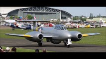 Gloster Meteor T7 @ VE Day air show Imperial war musuem Duxford