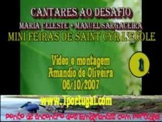 Cantares ao desafio - Maria Celeste - Manuel  - mini feiras
