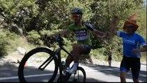 Génie : le wheeling de Peter Sagan lors du tour de Californie