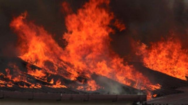 Birleşik Arap Emirlikleri'nin Kurucusunun Çiftliğinde Yangın