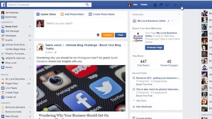 Facebook Newsfeed Update - How To See  t YOU Like in Your Newsfeed