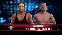 WWE 2K17 Simulation and my reaction to Pete Dunne winning the UK Title at NXT Take Over Chicago (37)