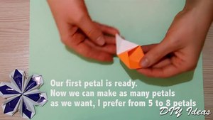 Easy Origami for Kids - Paper Bow Tie, Simpl Paper Craft Idea for Kids