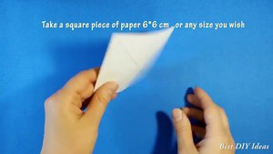 Easy Origami for Kids - Paper Bo ple Paper Craft Idea for Kids