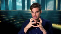 Wonder Woman - Chris Pine interview