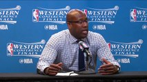【NBA】Mike Brown Postgame Interview Warriors vs Spurs Game 3 May 20 2017 2017 NBA Playoffs