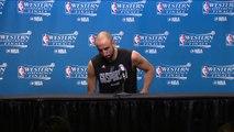 【NBA】Manu Ginobili Postgame Interview Warriors vs Spurs Game 3 May 20 2017 2017 NBA Playoffs