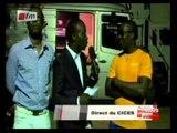 Réactions de Youssou Ndour et Mbaye Diéye Faye avant le Concert du CICES - 21 juin 2013