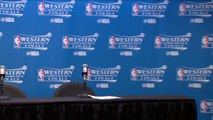 【NBA】Stephen Curry Postgame Interview Warriors vs Spurs Game 3 May 20 2017 2017 NBA Playoffs