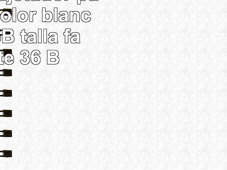 Triumph  Sujetador para mujer  color blanco  talla 95B talla fabricante 36 B