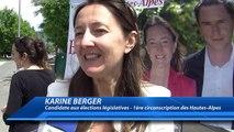 Hautes-Alpes : Karine Berger vient à votre rencontre tout au long de la campagne des élections législatives