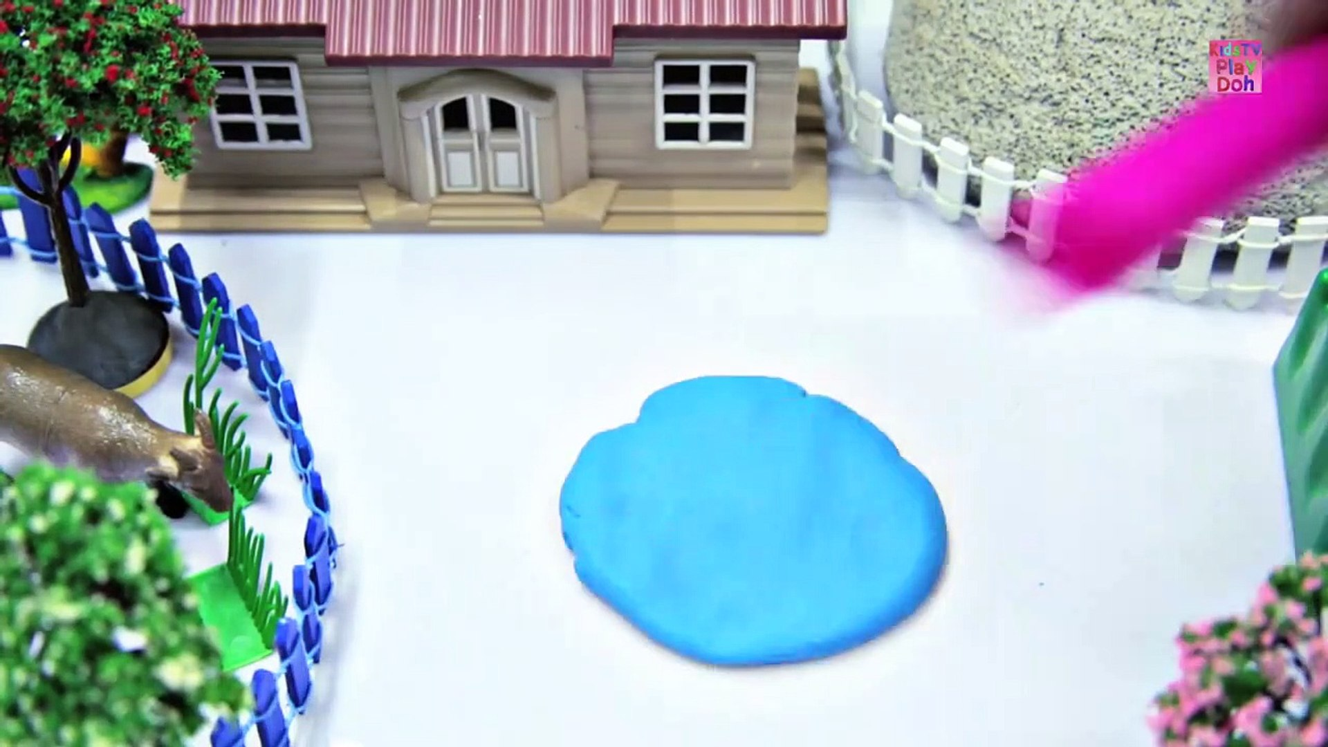 Learn Colors With Play Ddeos for Kids _ Kids Learning Videos  _ Play Doh Fish