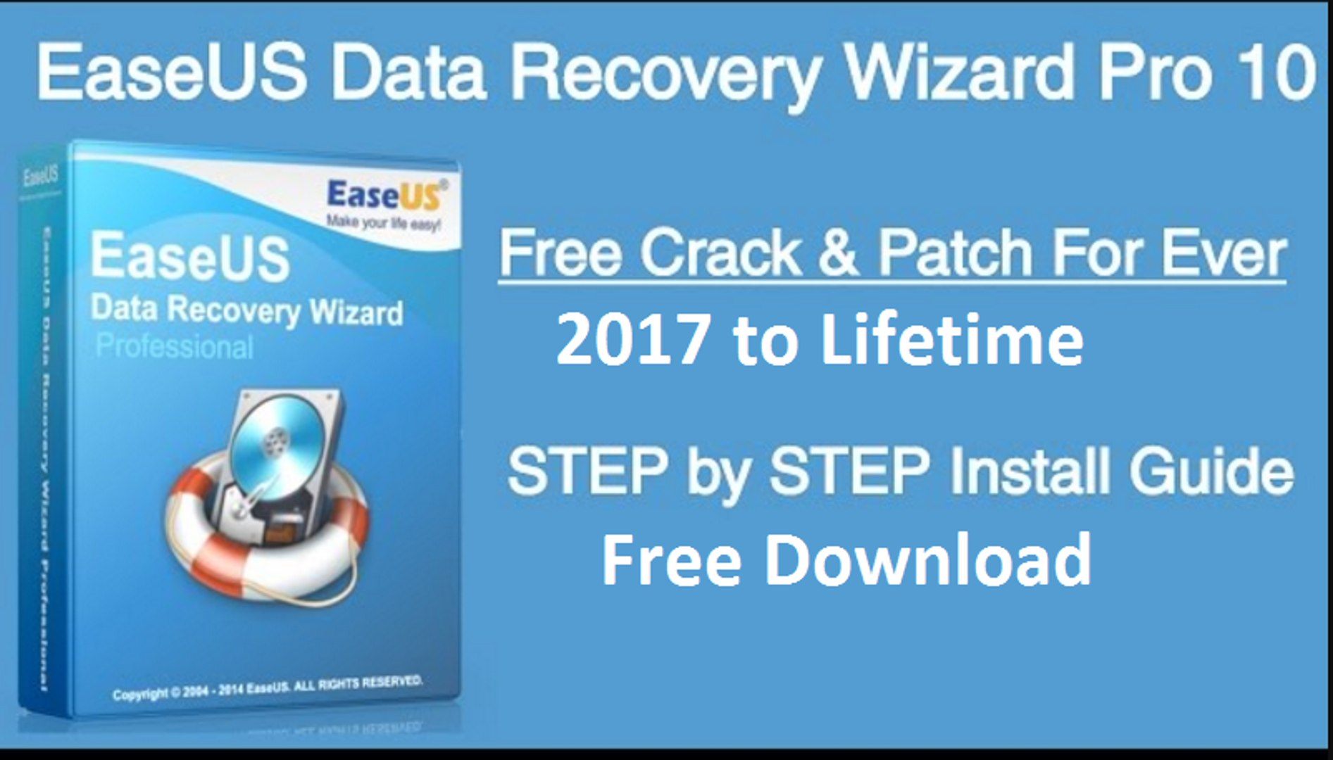How To Activate EaseUS Data Recovery Wizard 10 9 For