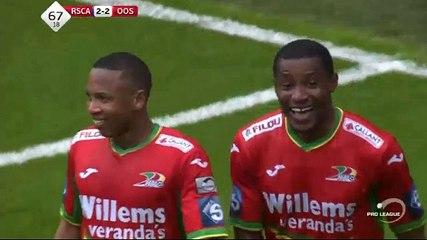Akpala GOAL (2:2) Anderlecht vs KV Oostende