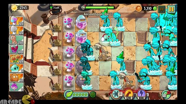 Plants Vs Zombies 2 Dark Ages  Crystal Wall-Nut Fits Perfectly