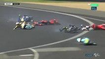 Multiple accident de motos au Grand Prix de France !