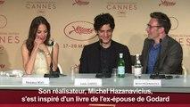 """Cannes : Hazanavicius présente """"Le Redoutable"""""""
