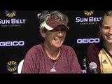 2014 Sun Belt Softball Championship - UL Monroe Game 7 Press Conference