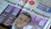 """""""13h15"""". """"On ne voit pas le mot écologie dans le programme d'Emmanuel Macron"""", disait Nicolas Hulot"""