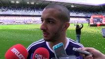 """Sofiane Hanni: """"Il y a de très bons remplaçants à Anderlecht"""""""
