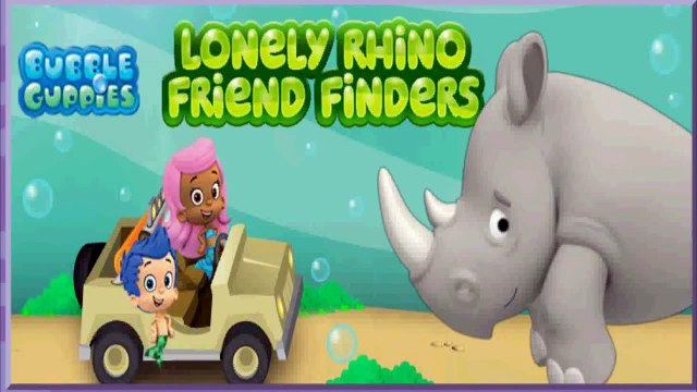 Bubble Guppies - Lonely Rhino Friend Finders - Kids Game