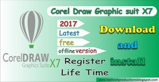 Making Tables in CorelDRAW X7 in Urdu and Hindi - video