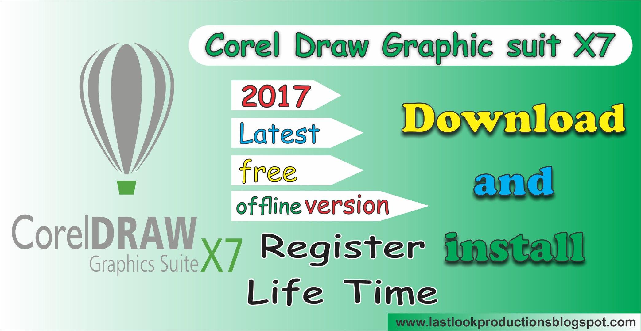baixar corel draw gratis x7