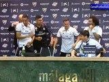 Zidane es mojado en plena rueda de prensa Real Madrid Campeón Liga 2017
