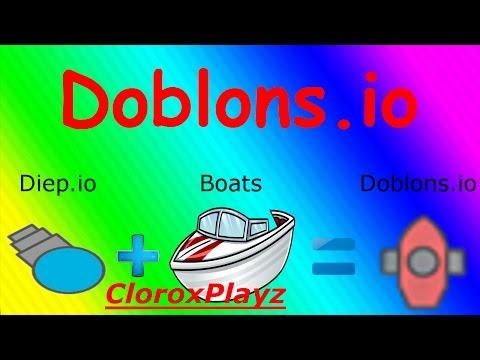 DIEP.IO + BOATS = DOBLONS.IO?!?