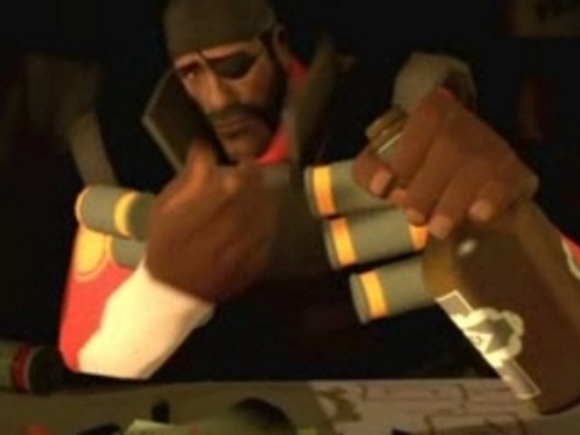 Team Fortress 2 demo man