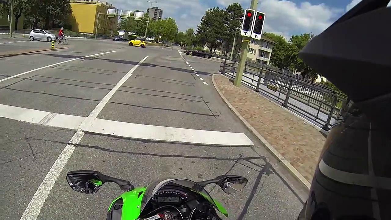 Kawasaki Ninjas Kawasaki Z1000 Vergleich _ Review – MotoVlog #1