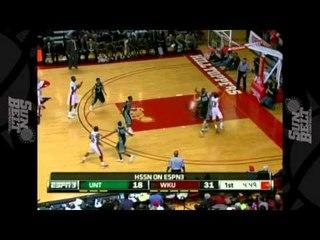 12/29/2012 North Texas vs Western Kentucky Men's Basketball Highlights