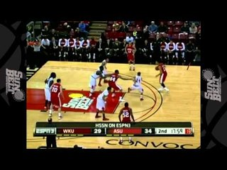 01/05/2013  Western Kentucky  vs Arkansas State Men's Basketball Highlights