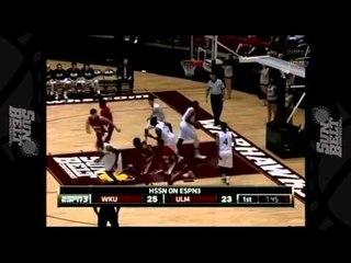 11/29/2012 Western Kentucky vs Louisiana Monroe Men's Basketball Highlights