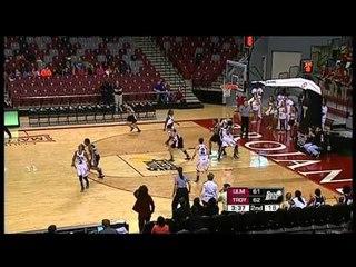 01/10/2013 Louisiana Monroe vs Troy Women's Basketball Highlights