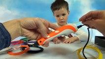 3D ручка для творчества делаем игрушки машинки из пластика 3D Pen make plastic c